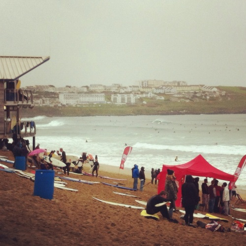 BUCS student surf competition