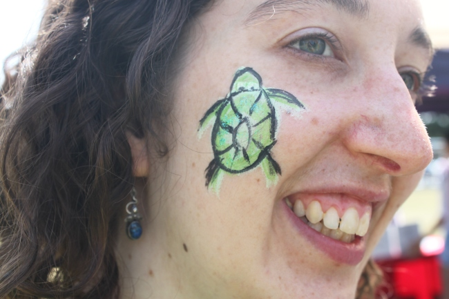 Turtle Facepaint